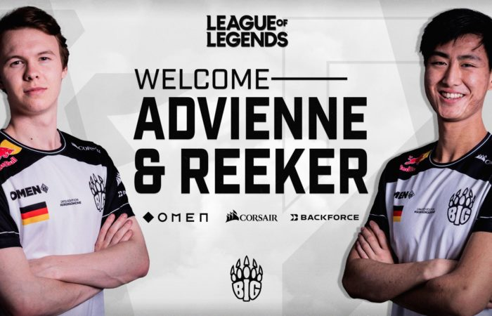 Welcome Advienne and Reeker to BIG!